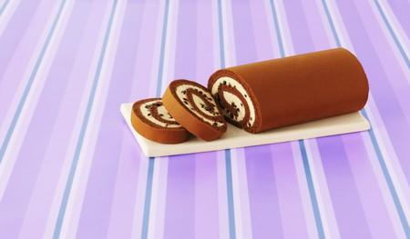 slashed: Chocolate Arctic roll, sliced LANG_EVOIMAGES