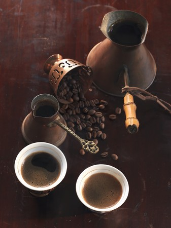 brownness: Turkish coffee and mocha beans