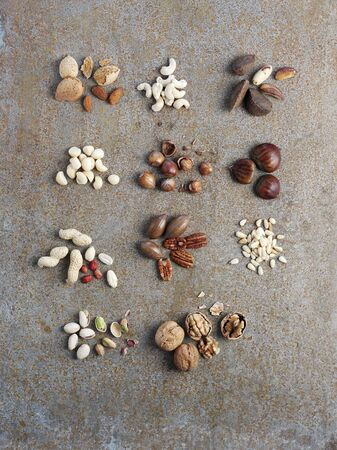 pine kernels: Assorted nuts
