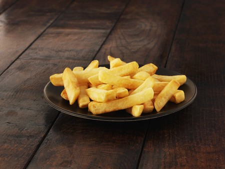 side order: A plate of chips