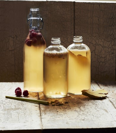 flavouring: Kombucha making, bottling and flavouring