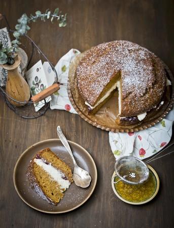 mascarpone: Carrot cake with mascarpone LANG_EVOIMAGES