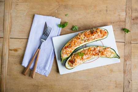 courgettes: Stuffed courgettes LANG_EVOIMAGES