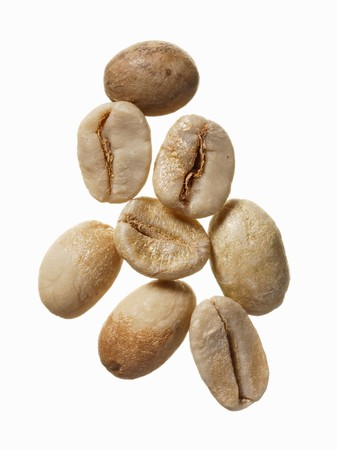 unroasted: Unroasted India Cherry coffee beans