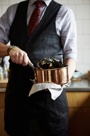 provenance: Moules mariniere