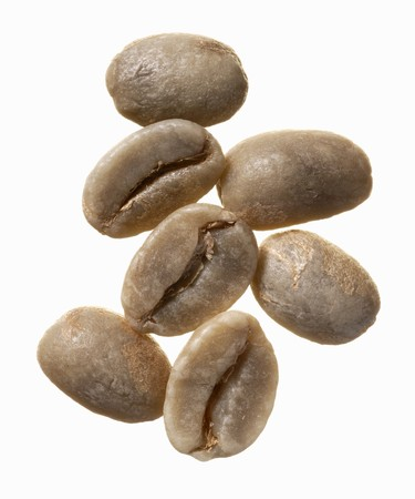 unroasted: Unroasted Columbia Supremo coffee beans