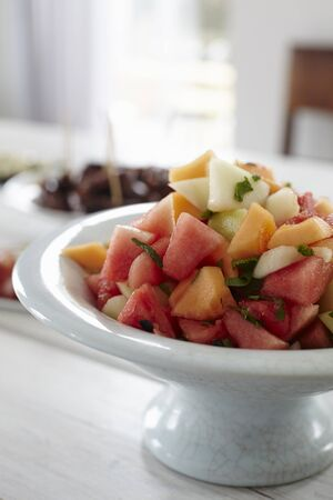 Cantaloupe: Melon salad