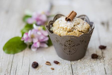 food: Vegan Lupine Apple Muffin