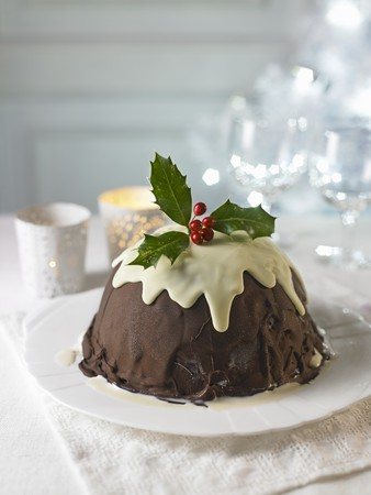 A plum pudding for Christmas LANG_EVOIMAGES
