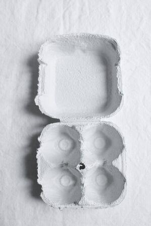 whiteness: An empty eggbox