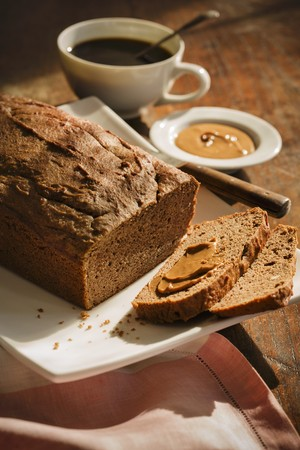 Banana bread with peanut butter LANG_EVOIMAGES