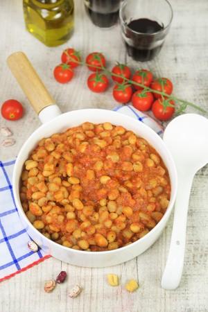 borlotti beans: Pisarei e fasoi (traditional Italian pasta with borlotti beans)