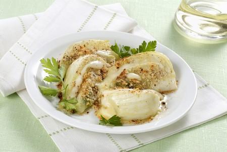 Fennel gratin with hazelnuts
