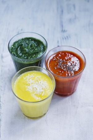non alcoholic: Three smoothies LANG_EVOIMAGES