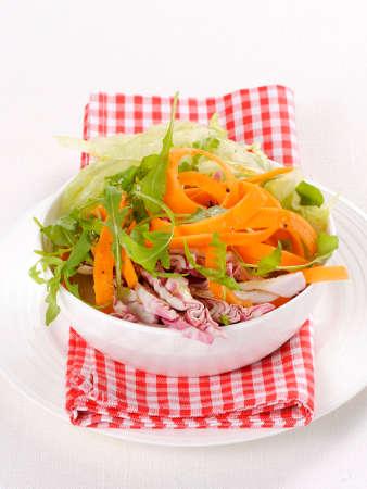 roquette: A crunchy vegetable salad