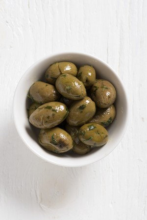whiteness: Paterno olives with parsley
