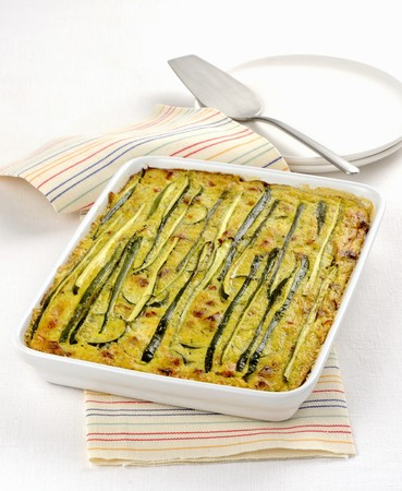 whiteness: Courgette bake