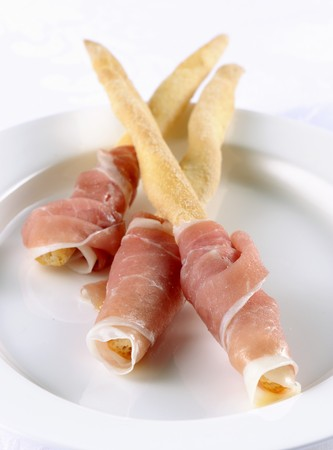 daniele: Breadsticks with San Daniele ham