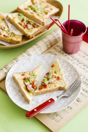 Toastie pizzas LANG_EVOIMAGES