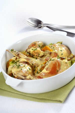 Rabbit fricassee LANG_EVOIMAGES