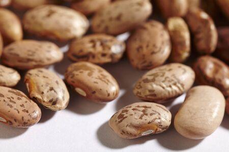 borlotti beans: Whole, dried pinto beans