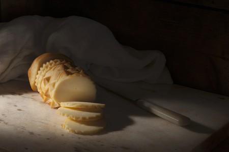 oscypek: Oscypek (traditional Polish sheeps milk cheese)