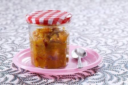 chutney: A jar of chutney