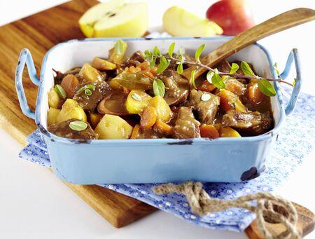 roasting pan: Amsterdam apple goulash