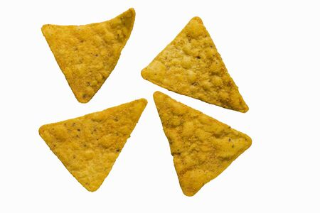 silos: Four ranch tortilla chips with a smoky flavour