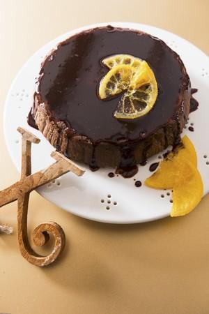 whiteness: Chocolate and orange cake