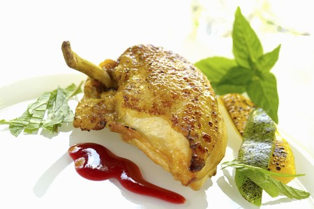 Chicken confit with vegetables LANG_EVOIMAGES