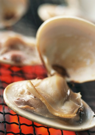 broiled: Broiled clams