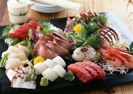Assorted sashimis LANG_EVOIMAGES