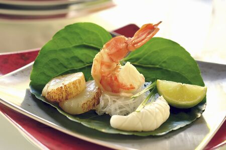 Yum Talay (seafood salad, Thailand) LANG_EVOIMAGES