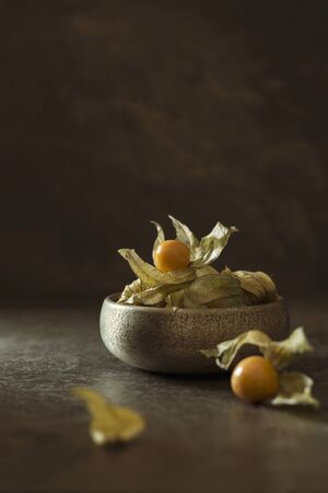 A bowl of physalis LANG_EVOIMAGES