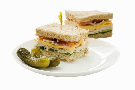 Sandwiches and pickles LANG_EVOIMAGES