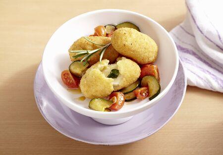 whiteness: Roman rice croquettes