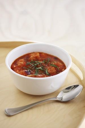 whiteness: Pappa al pomodoro (tomato bread soup), Tuscany, Italy