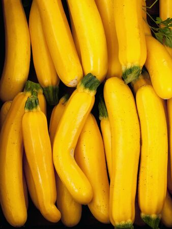 courgettes: Yellow courgettes (full frame)