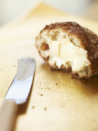 Bread rolls with butter LANG_EVOIMAGES