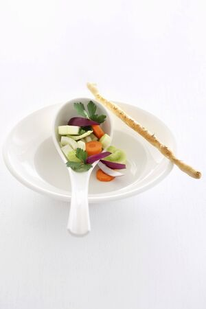 whiteness: Soup vegetables (to form the basis of soup)