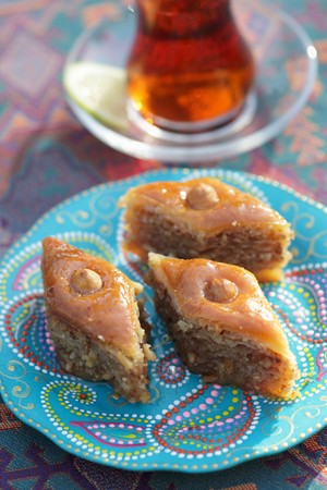 Baklava (nut cakes with syrup, Turkey) LANG_EVOIMAGES