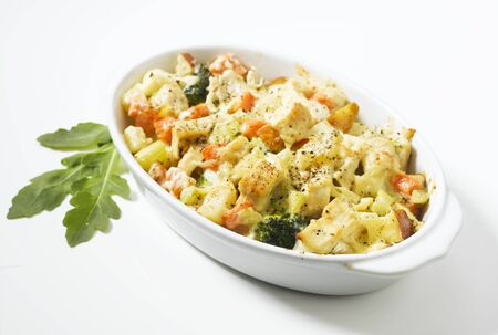 whiteness: Chicken and vegetable bake