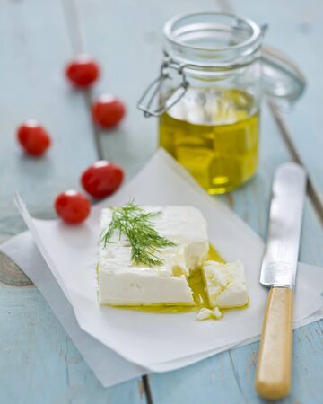 Feta cheese in olive oil LANG_EVOIMAGES