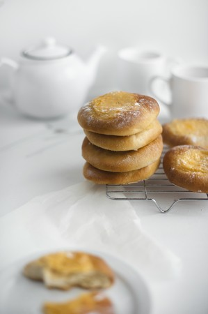 cup four: Homemade mascarpone buns