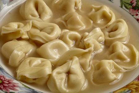 tortellini: Tortellini in Brodo (tortellini soup, Italy)