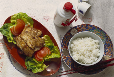 Deep-fried chicken LANG_EVOIMAGES