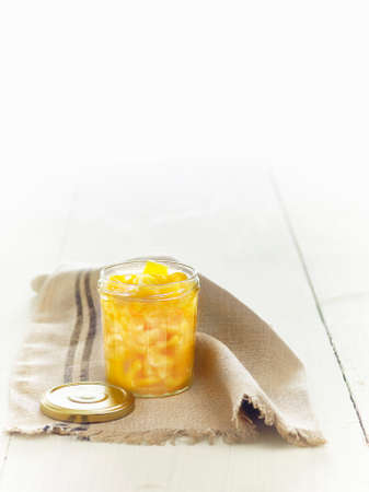 Lacto fermented yellow peppers