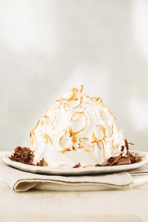 Baked Alaska with chocolate LANG_EVOIMAGES