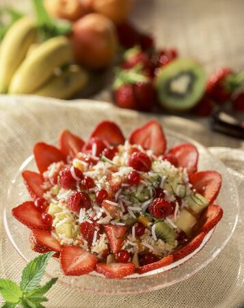 Reissalat with fruit